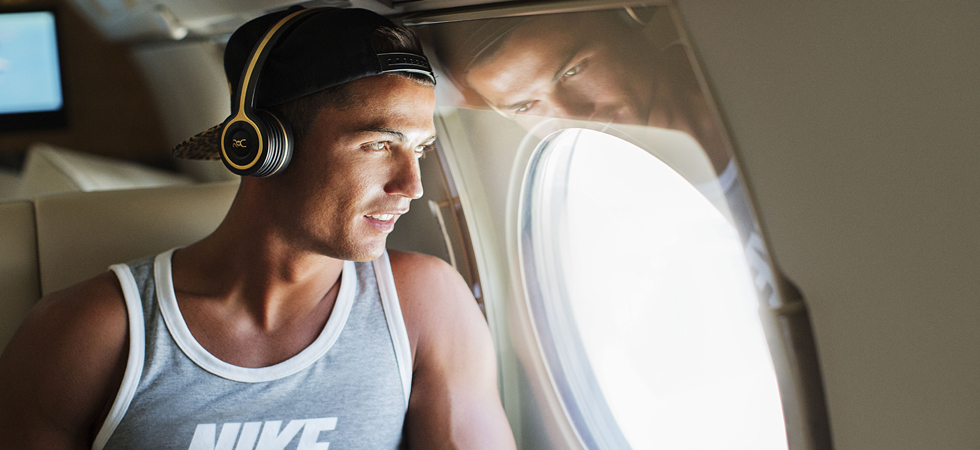 Live life louder - Cristiano Ronaldo steps into the world of technology.
