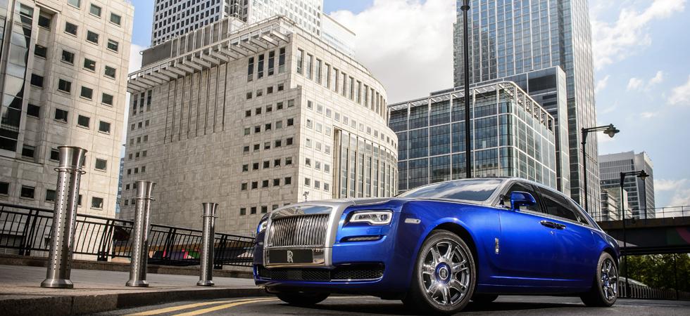 Chaffeur driven Rolls-Royces set for Richard James London event.