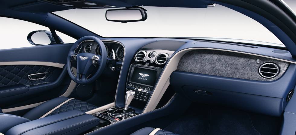 Stone veneer technology boosts Bentley's luxurious interior.