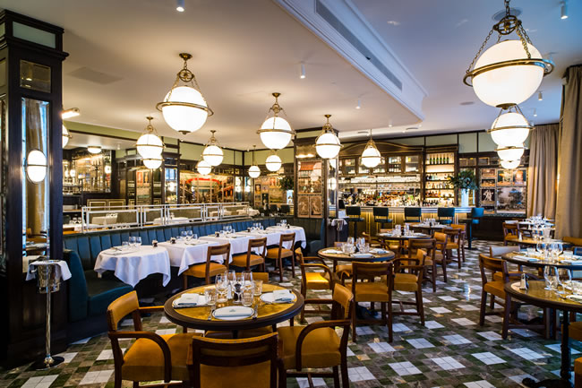 The Ivy Brasserie, Kensington High Street in London