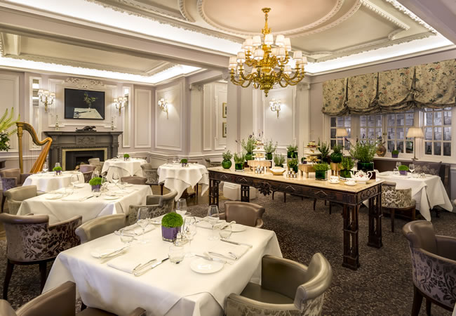 The Lyttelton restaurant at The Stafford Hotel in central London