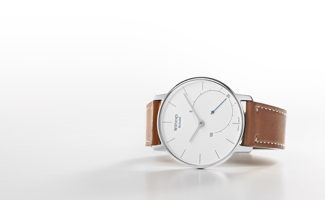 Paris meets Switzerland in the Withings Activité fitness watch.