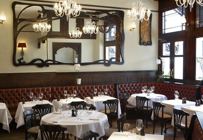 Angelus Restaurant, Paddington in London