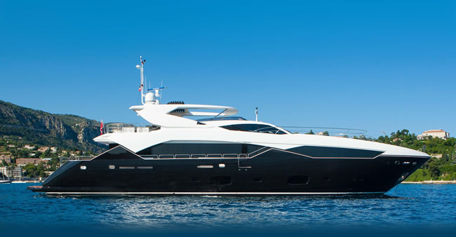 Chimera luxury yacht