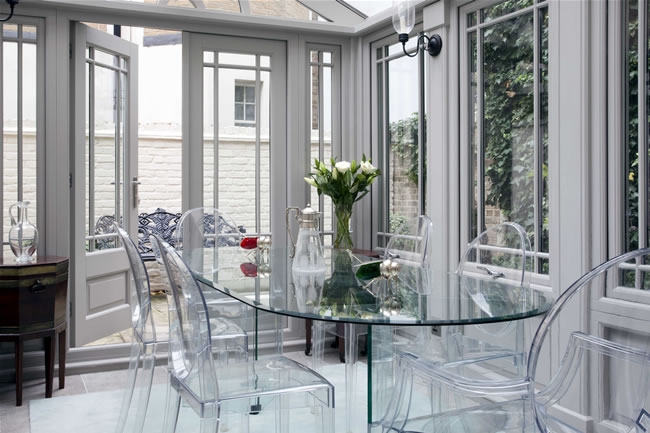 Orangery decorating ideas for every style luxury for Conservatory dining room design ideas