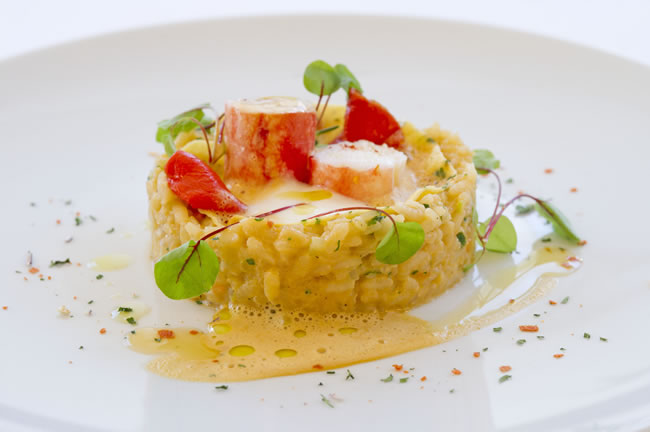 red king crab risotto