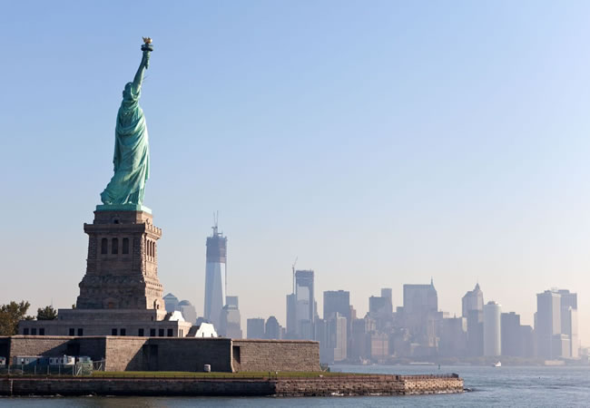 The Statue of Liberty is one of New York's most iconic landmarks