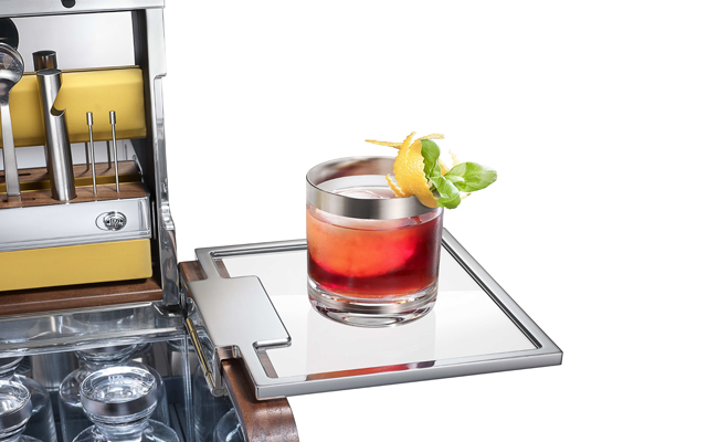 Rolls Royce combine forces with Theresienthal, 45 Park Lane and The Dorchester to make a premium cocktail hamper.