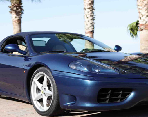 Fancy owning a Ferrari Classic like this 360 F1 Spider? Don't miss Europes largest Ferrari auction.