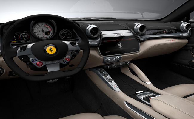 The H.R Owen group bring Geneva Motor Show to the UK in 2016 with the Ferrari GTC4Lusso just one of the models set to feature.