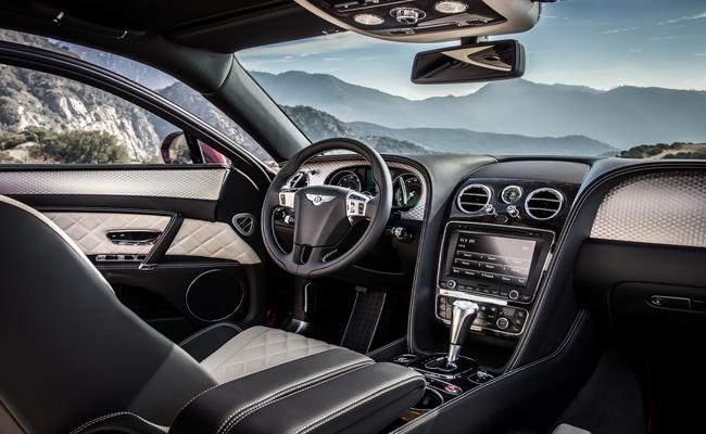 Divulge in a world of luxury inside Bentley's latest model the Flying Spur V8 S.