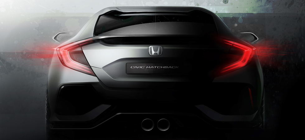 Unveils from Honda include the new Hatchback concept in Geneva.