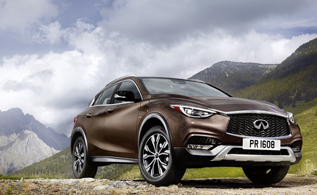 New to the market and set for Geneva debut is the QX30.