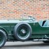 Vintage fashion meets rare classic car in the Louis Vuitton Bentley.