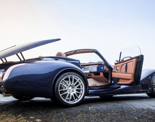 1960s Style meets modern production for the Morgan Aero 8.