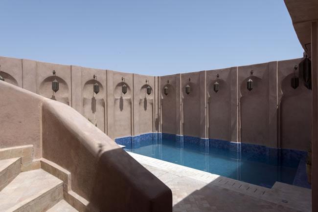 Hotel of the week almaha marrakech marrakech in morocco for Construction piscine marrakech