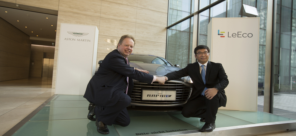 One step forward for the RapidE, one step forward for the luxury electric vehicle market.