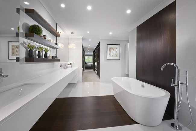 Luxury bathrooms bringing outdoors in luxury for 2016 ensuite trends