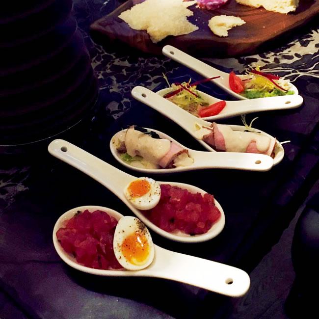 Tasting Spoons Zafferano
