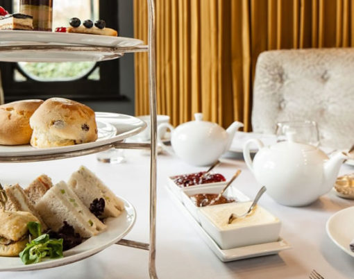Afternoon tea with an Italian flavour at the Baglioni Hotel London.