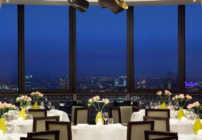 Galvin at Windows Restaurant and Bar @ London Hilton on Park Lane