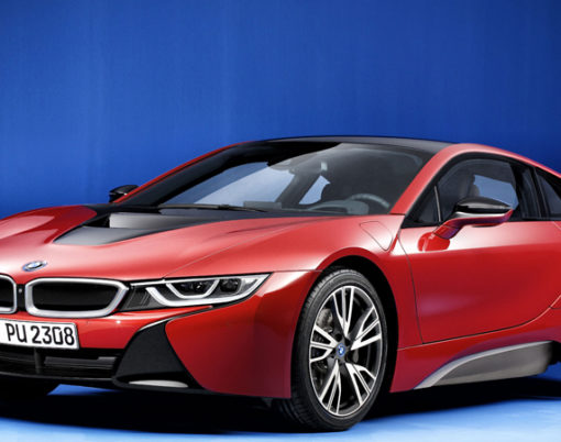 Electric motors continue to look the part with latest i8 development from BMW.