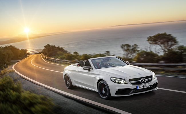 Open air driving just got even more powerful thanks to the C 63 Cabriolet model from Mercedes Benz.