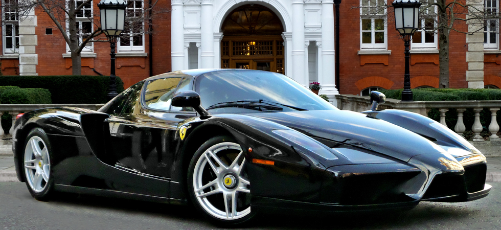 Rare Ferrari Enzo and 575M Superamerica on sale at H.R. Owen