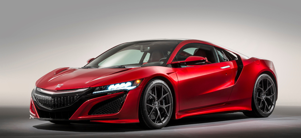 Honda to release the NSX to Europe across Autumn 2016.