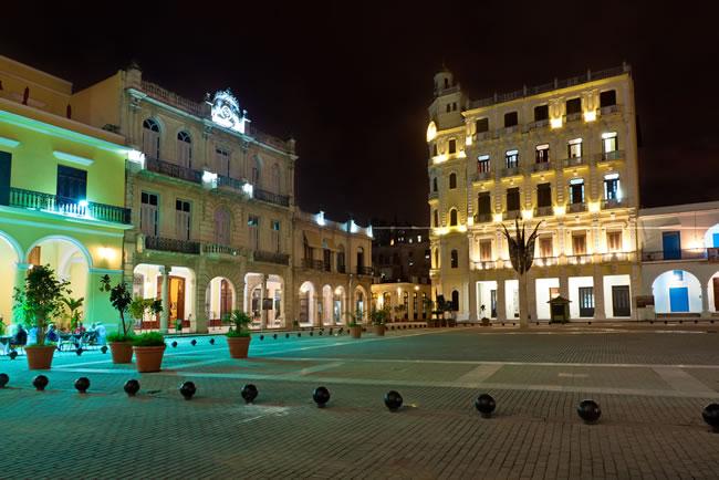 La Havana old town