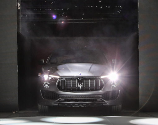 Maserati performance meets SUV in the Levante.