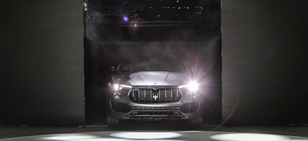 Maserati performance meets SUV in the Levante.
