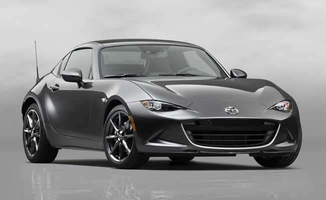 Practicality met with fun - introducing the latest MX-5 RF from Mazda.
