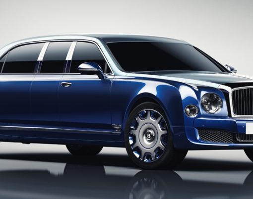 Luxury meets limousine thanks to new Bentley Mulliner creation.