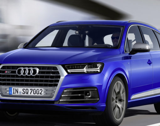SQ7 makes a world-first for Audi.