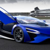TREV concept car goes through the paces at Silverstone.