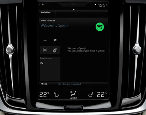 Spotify connects with Volvo.