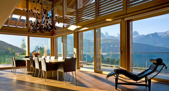 A Luxury Swiss Ski Chalet The Ultimate In Alpine Design Luxury Lifestyle Magazine