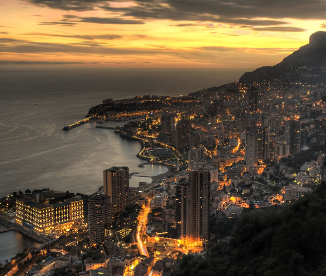 One of the most luxurious locations in Europe has to be Monte Carlo, the capital of Monaco