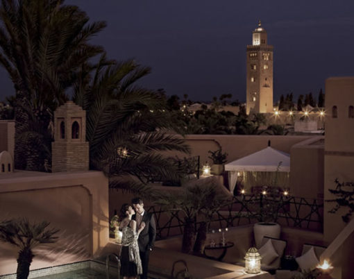 the Royal Mansour hotel morocco