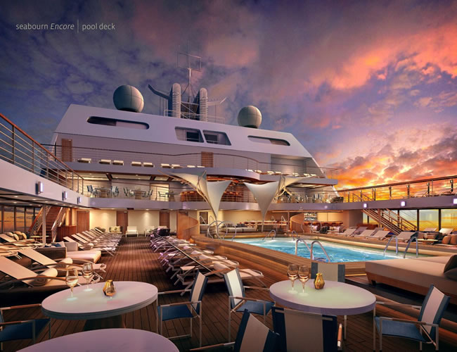 the newest of Seabourn's Six-Star ships, the Encore