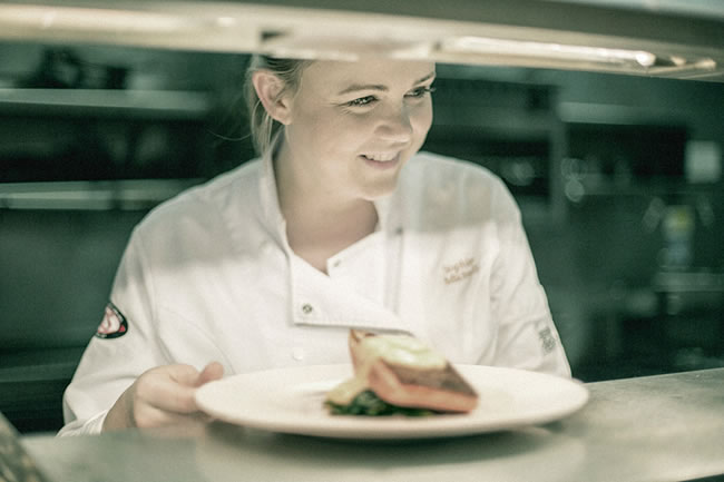 Sophie's gastronomic style is centred on eclectic cuisine