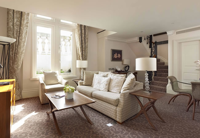 The Royal Horseguards Suite combines comfort and luxury