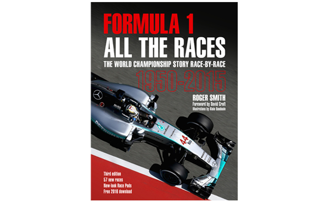 The thrills,spills and scandal of Formula One all contained in one chunky piece of literature.