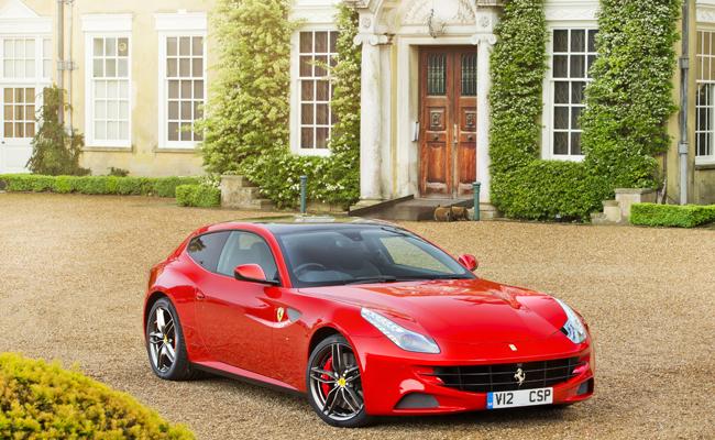 Ferrari FF available for Chaffeur .