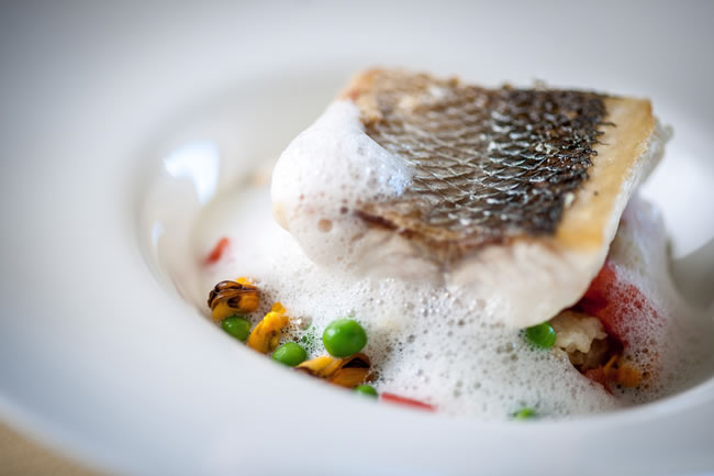 The restaurant serves a delicious selection of locally caught seafood. Image credit Photographer: David Griffen