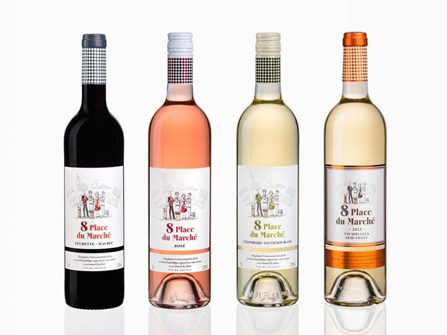 8 Place du Marché Wine