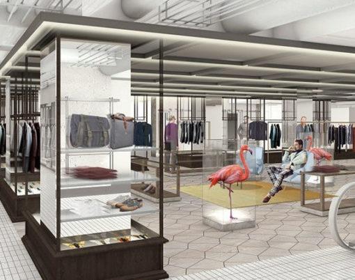 Luxury retailer Harvey Nichols has unveiled their new menswear department today at their Knightsbridge store.
