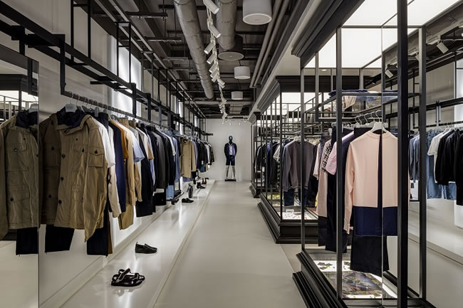 Harvey Nichols unveil their newly revamped menswear department