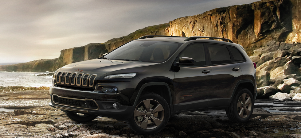 Top models receive limited edition upgrades for 75th Anniversary at Jeep.